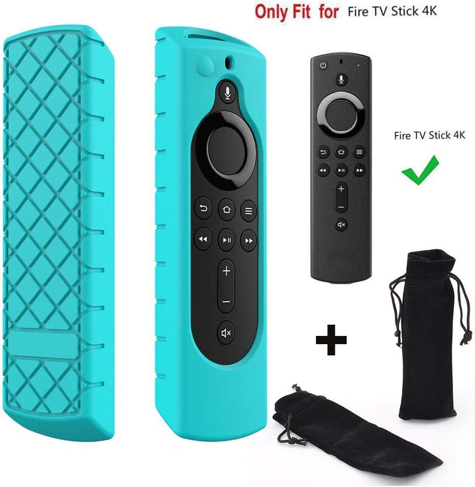 Funda Protectora de Silicona para Fire TV Stick 4K, para Amazon ...