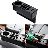 iTimo Car Seat Crevice Storage Box Coin Drink Phone Cigarette Holder Auto Seat Gap Organizer Container Car Organizer…