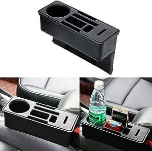 iTimo Car Seat Crevice Storage Box Coin Drink Phone Cigarette Holder Auto Seat Gap Organizer Container Car Organizer Accessories