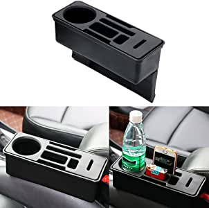iTimo Car Seat Crevice Storage Box Coin Drink Phone Cigarette Holder Auto Seat Gap Organizer Container Car Organizer Accessories