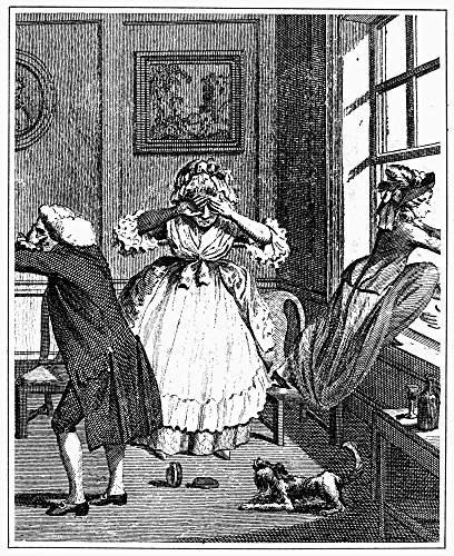 Gretna Collection - Eloping For Gretna Green Na Young Woman Elopes For A Runaway Wedding At Gretna Green A Village In Scotland On The English Border Line Engraving English Late 18Th Century Poster Print by (18 x 24)