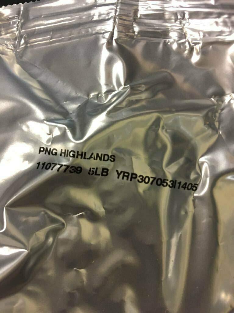 Seattles Best Whole Bean Coffee - 5lb Bag (Papua New Guinea Highlands)