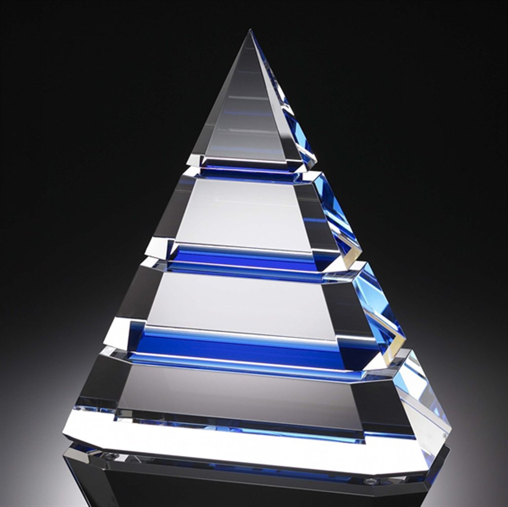 ZGUO High Grade Crystal Pyramid Creative Trophy