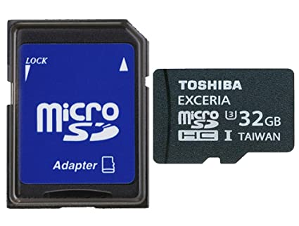 Toshiba SD-CX32UHS1 (6 A Micro SD 32 GB MB Tarjeta de ...