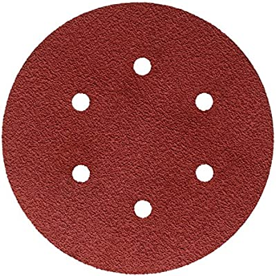 60+ X-weight Pack of 25 785737 3M Hookit 45720 Cubitron II Cloth Disc 947A 6 in x NH Maroon,