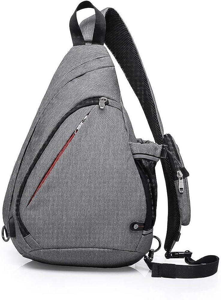 KAKA Sling Bag Crossbody Backpack Antitheft Waterproof Shoulder Bag