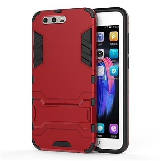 2 opinioni per Cover Huawei Honor 9,SMTR Dual Layer Custodia ibrida Rigida Morbido Armatura