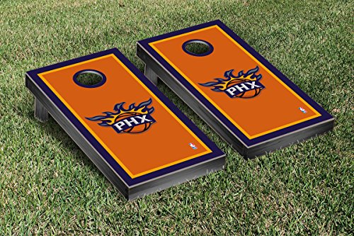 Phoenix Suns NBA Basketball Cornhole Game Set Border Version by Victory Tailgate