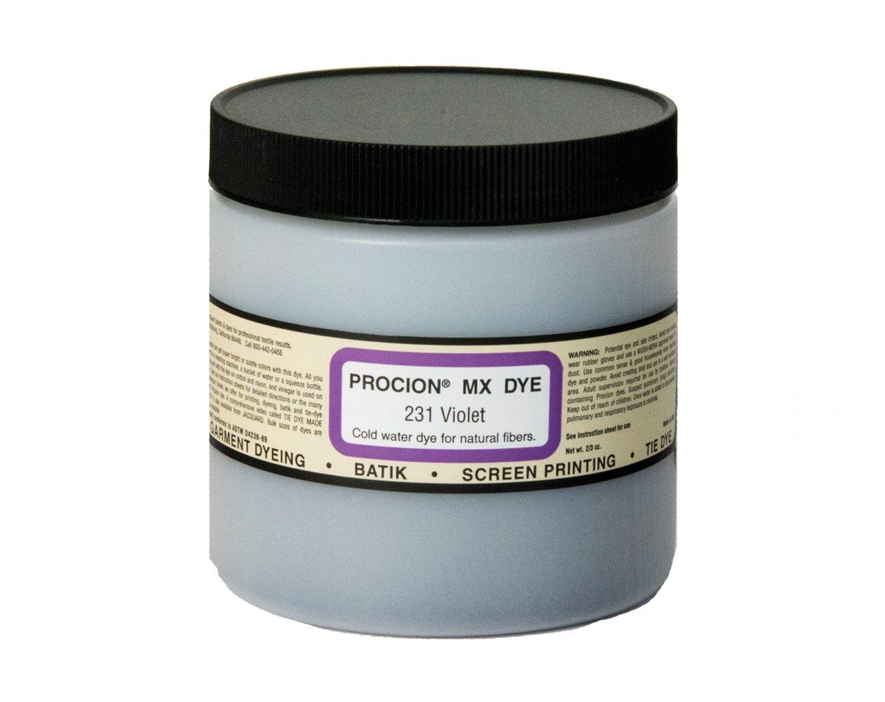 Jacquard Products Bright Vio-Jacquard Procion Dye, Acrylic, Multicolour