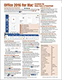 Office 2016 for Mac Essentials Quick Reference Guide (Cheat Sheet of Instructions, Tips & Shortcuts - Laminated Card)