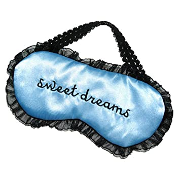 7be1e817eef Image Unavailable. Image not available for. Color  Butterfly Iron Sweet  Dreams Embroidered Women Eye Mask Sleep Lace Travel Sleeping Mask