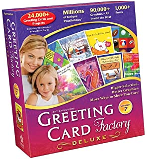 Amazon greeting card factory 80 deluxe old version greeting card factory 70 deluxe old version m4hsunfo