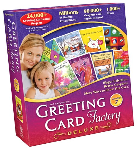 Amazon Greeting Card Factory 70 Deluxe Old Version