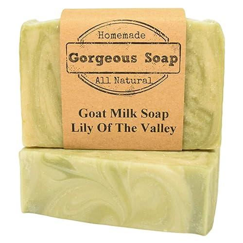 Amazon.com: Lily of the Valley Goat Milk Soap - All Natural Soap, Handmade Soap, Homemade Soap: Handmade