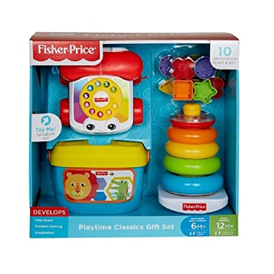 Fisher Price Playtime Classics Gift Set: Toys & Games