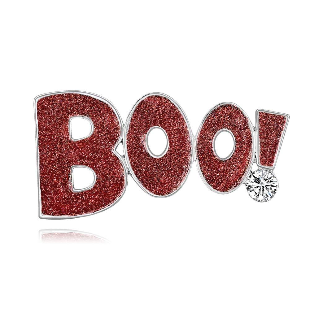 LAAT Halloween Brosche Halloween Brosche und Anstecknadel brosche Legierung Pins Kleidung Patch Mädchen Cute Patches Size 5.1 * 2.5CM