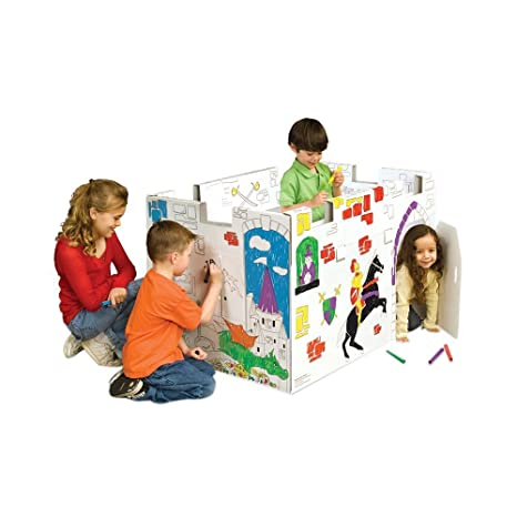 Amazon.com: My Very Own House Coloring Playhouse, Castle: Toys & Games
