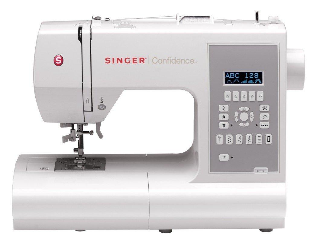 Singer 7470 Confidence Sewing Machine, White: Amazon.co.uk: Kitchen & Home
