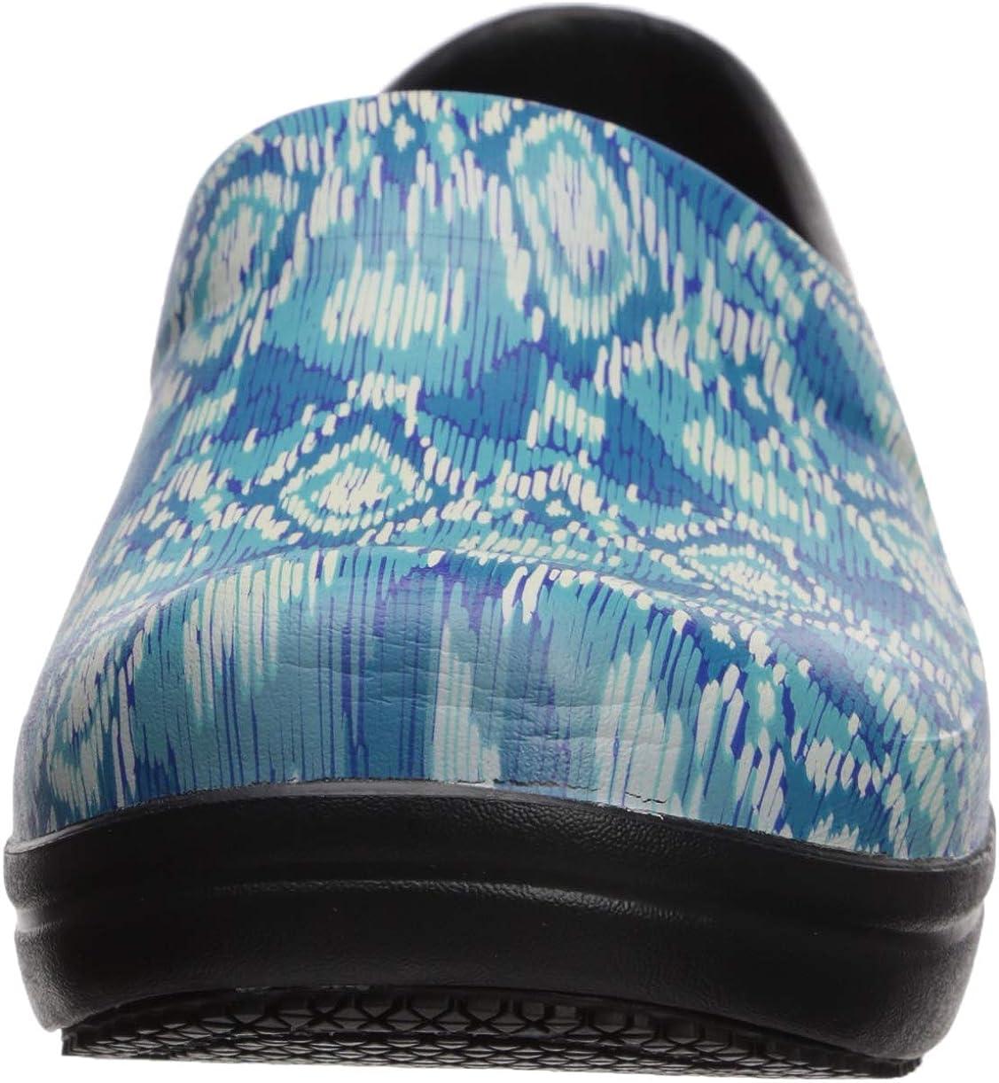 Slip Resistant Work Shoes Crocs Womens Neria Pro II Embellished Clog