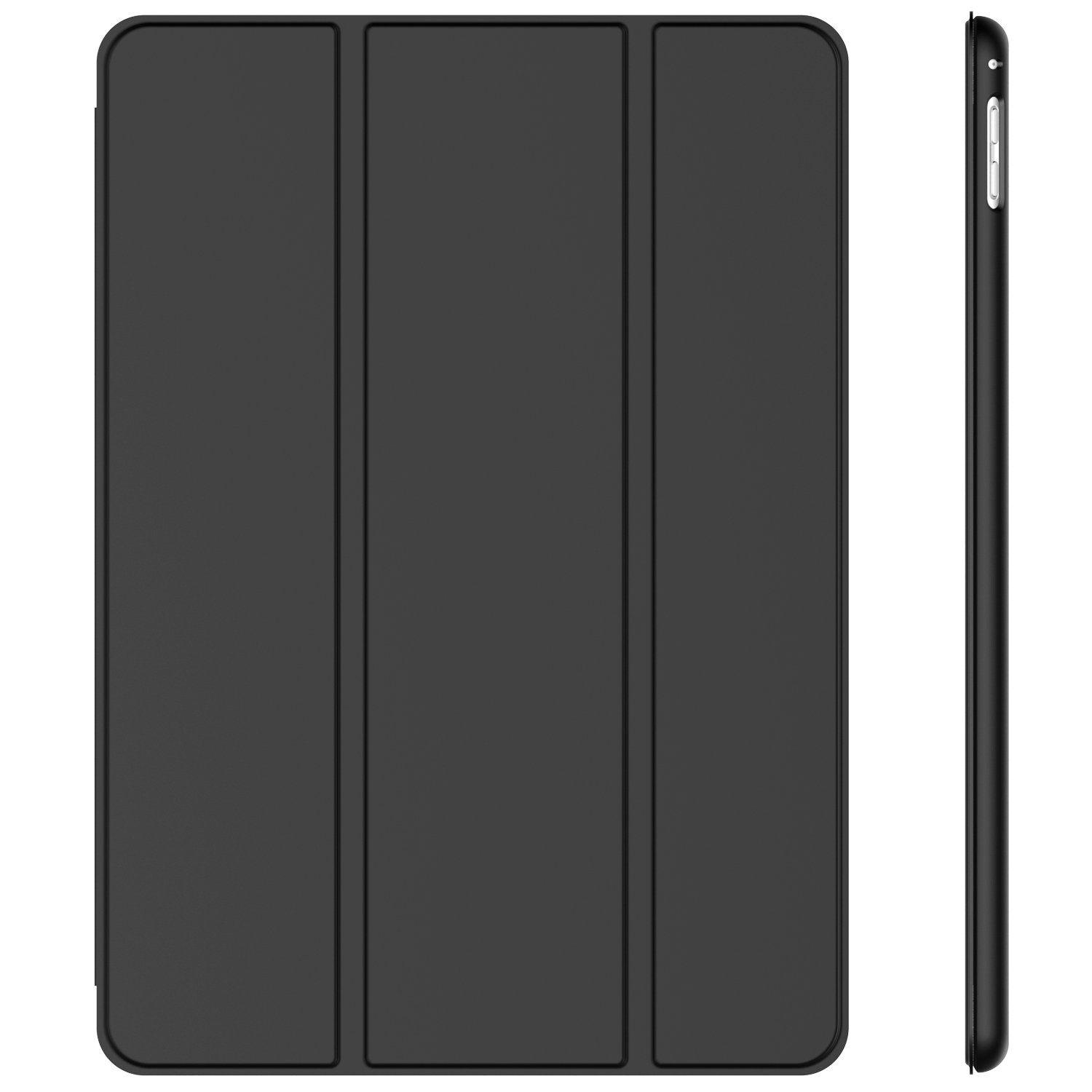 JETech Case for Apple iPad Pro 9.7-Inch (2016 Model), Smart Cover Auto Wake/Sleep, Black
