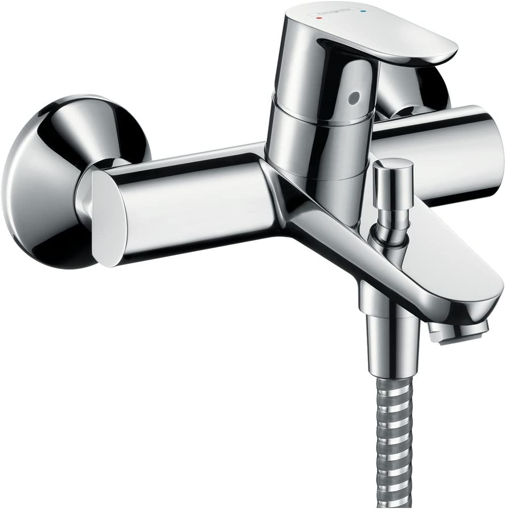 Hansgrohe 31940000 Focus grifo de bañera visto, cromo