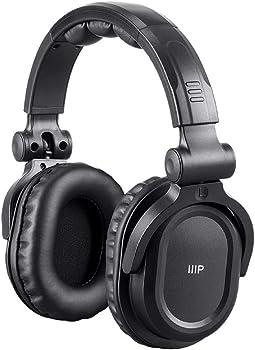 Monoprice 24735 Over-Ear Wireless Bluetooth DJ Headphones