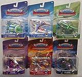 Skylander Superchargers 6 Piece Bundle, Sea Shadow, Stealth Stinger, Dive Bomber, Sky Slicer, Burn-Cycle & Splatter Splasher