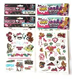 AHA Temporary Tattoos 104 pcs Barbie in Princess
