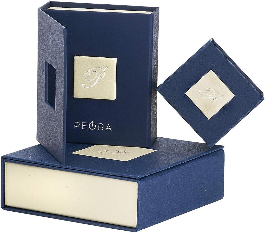 Sterling Silver 4.50 carats Oval Shape Peridot CROSS Pendant Peora Radiant Glory