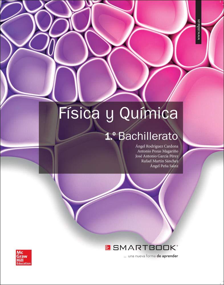 Fisica Y Quimica 1 Bachillerato 9788448191542 Amazon Es Rodriguez Mcgraw Hill Libros