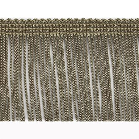 20-Yard Expo International 2-Inch Chainette Fringe Trim Embellishment White