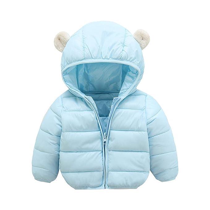 Amazon.com: Chaqueta de invierno para bebé, chaqueta para ...
