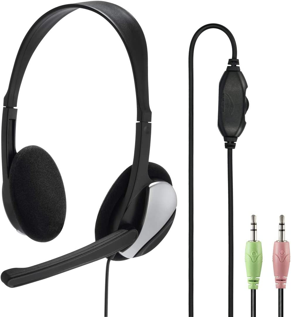 Hama Pc Headset Hs P100 Mit Mikrofon Schwarz Elektronik