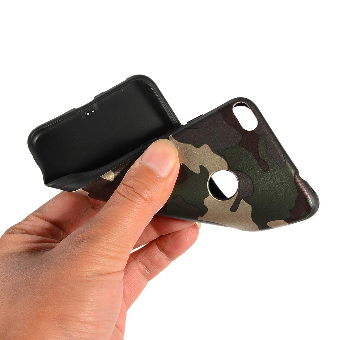 Flor 1 Everainy Funda Compatible para Huawei P8 Lite 2017//P9 Lite 2017 Silicona Carcasa TPU Suave Caso Goma Caucho Bumper Delgado para Huawei P8 Lite 2017 Ultrafina Parachoque Antigolpes Cover