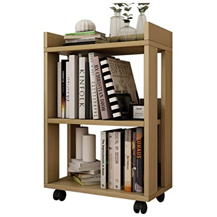 save off c76d6 98f52 Amazon.com: Bookshelf Bookcase Small Wooden with Pulley ...