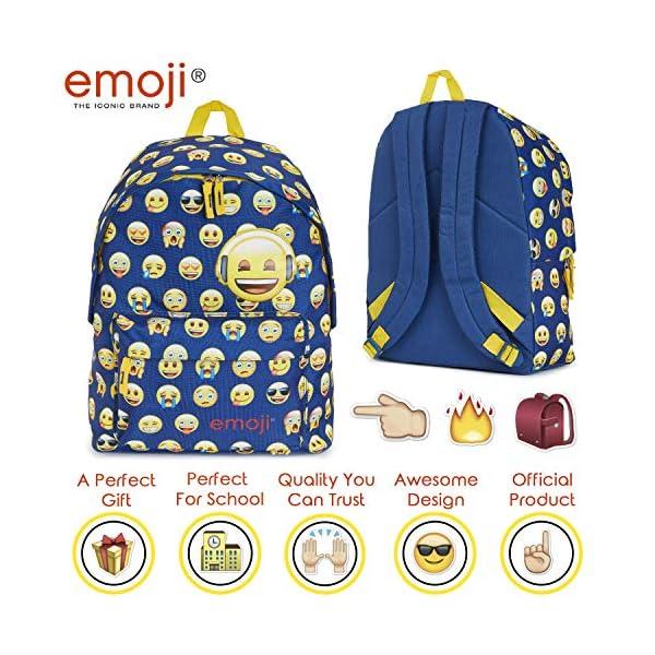 Emoji Zaino Scuola, Zaini Scuola Media E Elementare, Zainetto Ragazza E Ragazzo, Cartella Divertente Con Emoji Cacca E… 2 spesavip