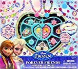 Best Toys & Child Friend Pendants - Tara Toy Frozen Forever Friends Jewelry Activity Playset Review