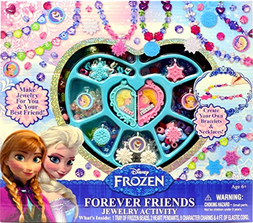 Disney Frozen Forever Friends Jewelry Activity (Best Disney Frozen Friends Gift Sets)