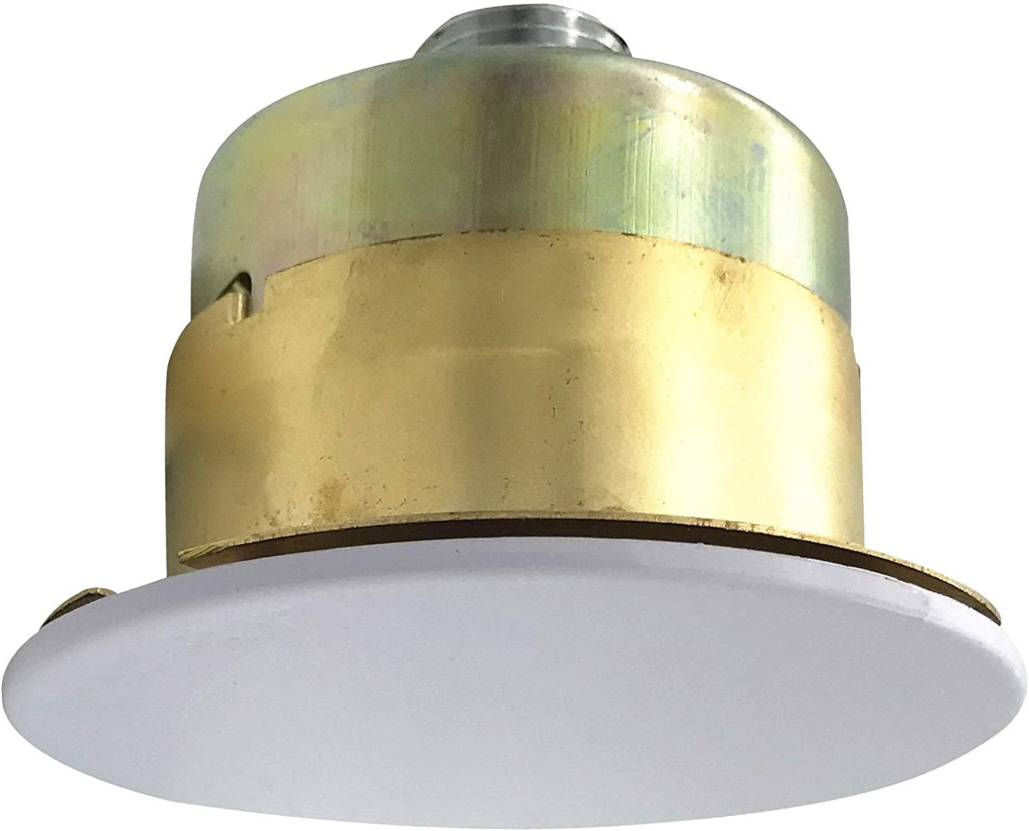 """TUNA UL & CUL Listed 1/2""""NPT Fire Sprinkler Head 155°F (68°C) Concealed Pendent Spray K80 Standard Response for Automatic Fire sprinkler System Concealed Head with White Cover Plate"""