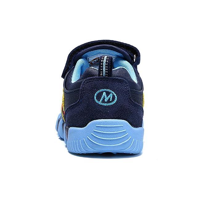 Bruce Lin Unisex bambini Moda Scarpe da Corsa Leggero Traspirante Sportive Fitness Running Scarpe Casuale All'aperto Sportive Antiscivolo Sneakers (27 EU, 826-Rosa 03)