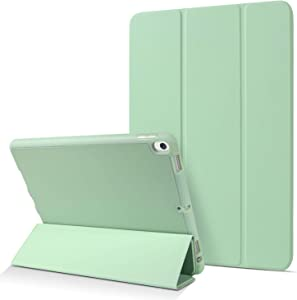 "BENTOBEN Case for iPad Air 10.5"" (3rd Gen) 2019 / iPad Pro 10.5"" 2017 with Pencil Holder, Premium Protective Tablet Case Slim Soft TPU Back Smart Cover Auto Sleep/Wake for Apple iPad Air 3 10.5, Green"