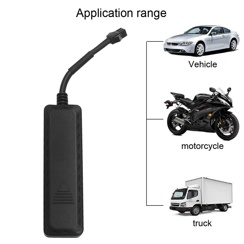 AUENLIPHTO GT200A Real-time wireless Portable Magnetic Personal bicycle motorcycle Vehicle GPS Tracker No Monthly Fee anti-theft GPS tracking Black