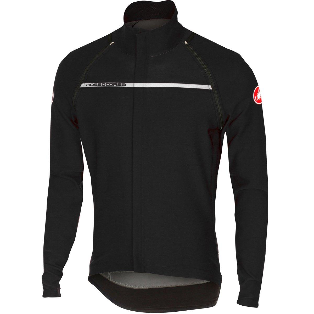 CastelliメンズPerfetto Convertible Cycling Jacket B075F1841J XX-Large ライトブラック ライトブラック XX-Large