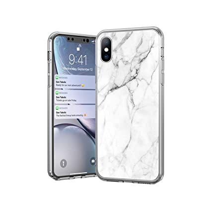 Amazon.com: Carcasa para iPhone X 7 8 6 6S Plus, diseño de ...