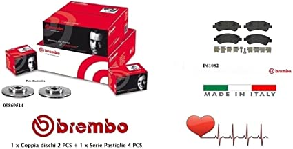 Plaquettes De Freins Freins Peugeot Partner Citroen Berlingo Avant Disques De Frein