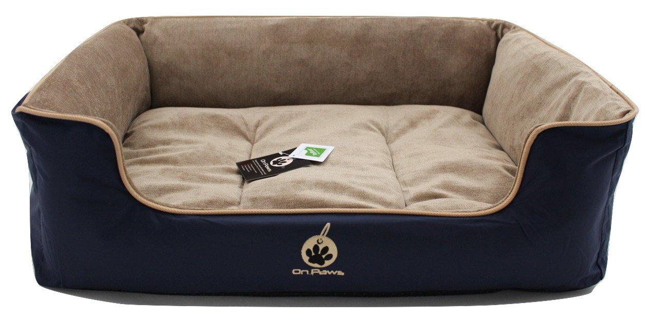 On Paws Sleep Well Lounger Azul Oscuro, tamaño S (50 x 40 cm): Amazon.es: Productos para mascotas