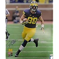 Jake Butt Michigan Wolverines 16-1 16x20 Autographed Photo - JSA Authentic photo
