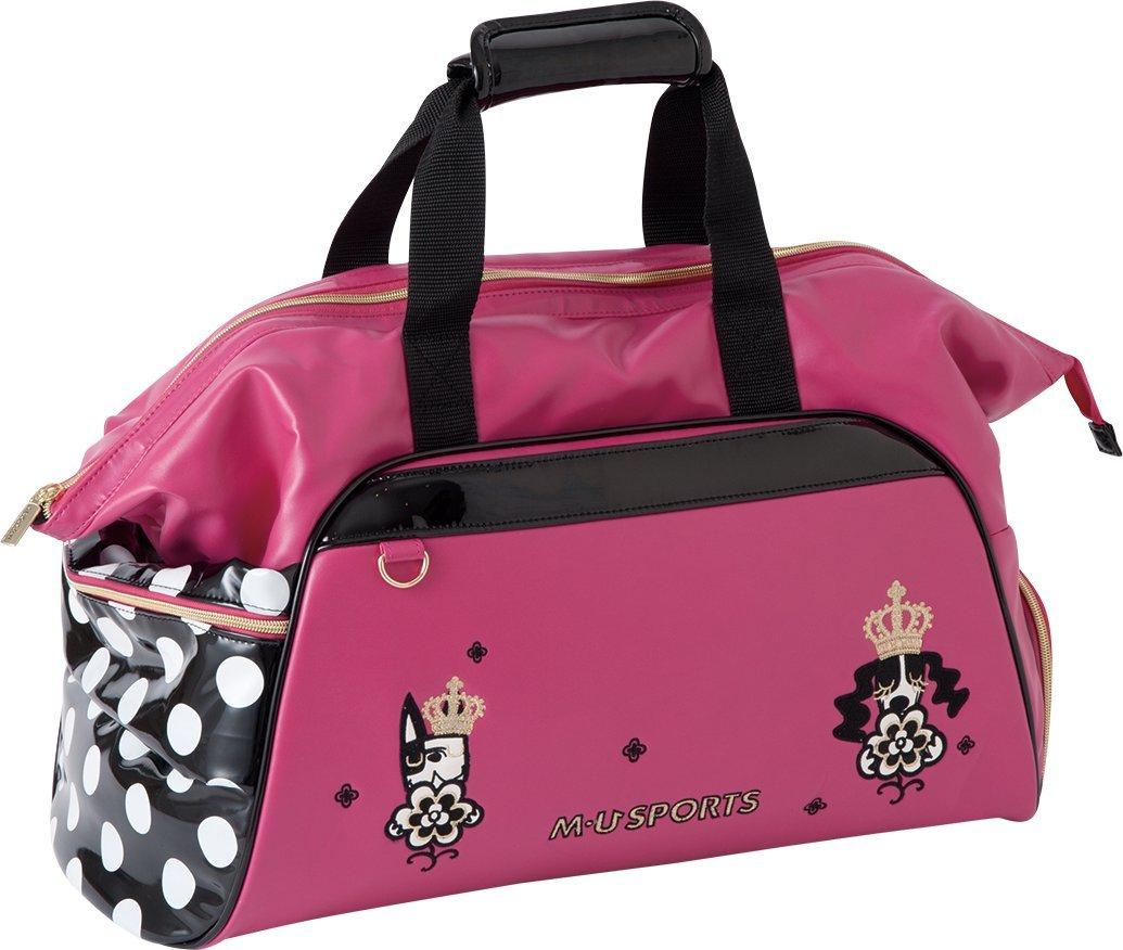 MU Sports Ladies Boston Bag, Pink, 703Q6207 by MU Sports