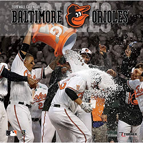 2019 Baltimore Orioles Wall Calendar, Baltimore Orioles by Turner ()