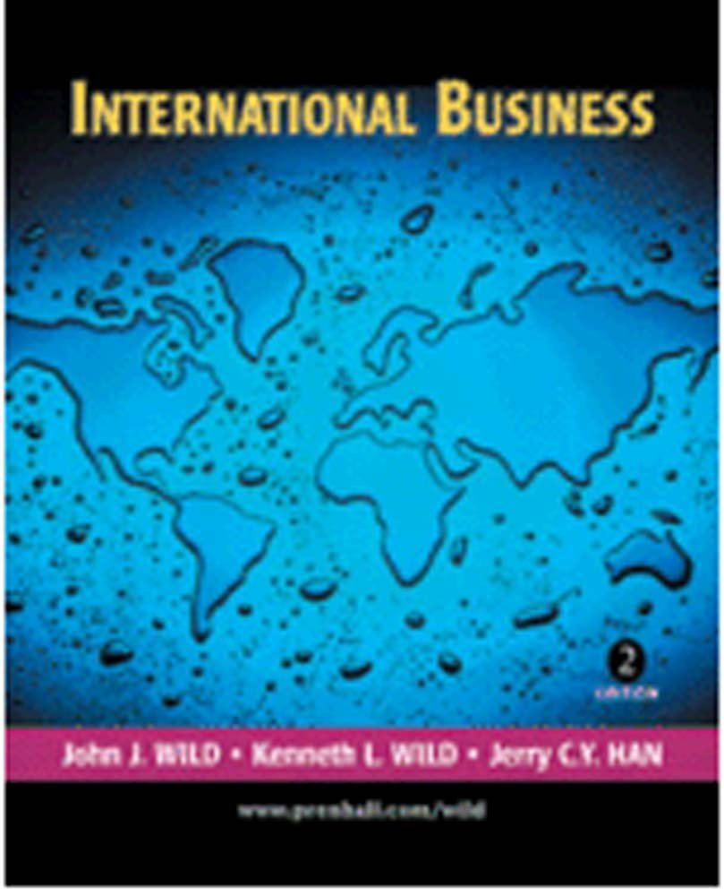 International Business The Challenges of Global Business (4th International Edit PDF